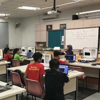 Home Automation Systems in Secondary School Subjects